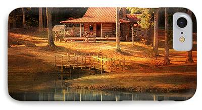 Log Cabin iPhone Cases