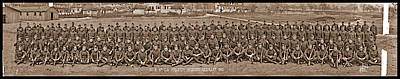 Co. M. 9th U.s. Infantry Regiment Poster