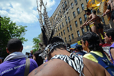 Queens Pride Gay Parade In Jackson Poster by Nano Calvo