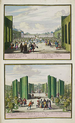 The Park At Enghien Poster by British Library
