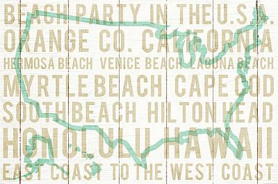 Bon Voyage Usa Poster