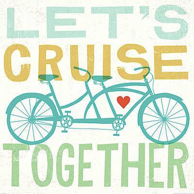 Lets Cruise Together I Poster