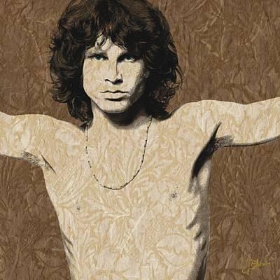 Morrison Cross Poster by Dancin Artworks