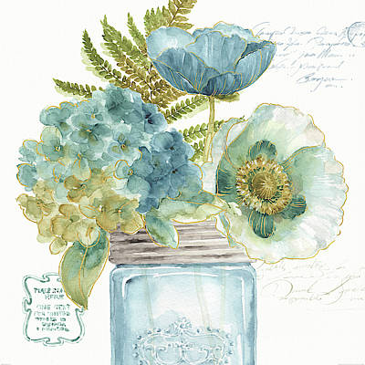My Greenhouse Bouquet IIi Poster by Lisa Audit