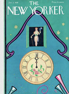 New Yorker January 2nd, 1926 Poster