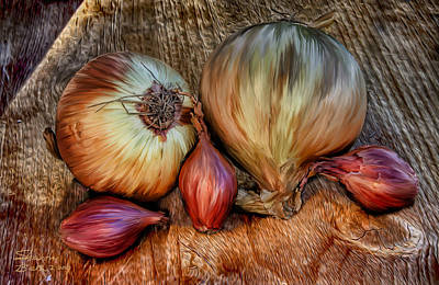 Onions And Scallions Poster
