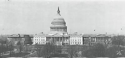 Us Capitol Washington Dc 1916 Poster