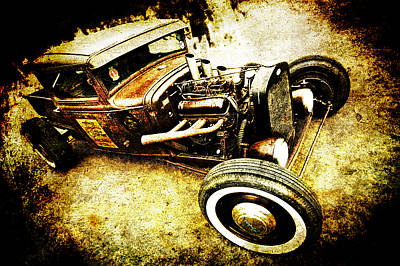 Rusty Rod Poster by Phil 'motography' Clark