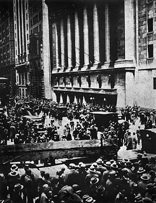 Wall Street Crash 1929 Poster by Granger