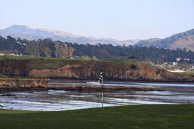 18th At Pebble Beach Poster