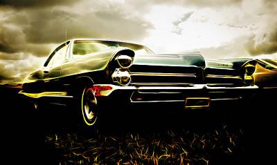 1965 Pontiac Bonneville Poster by Phil 'motography' Clark