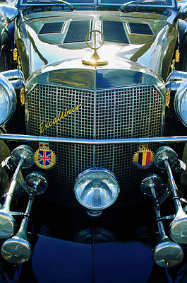 1984 Excalibur Roadster Grille Poster