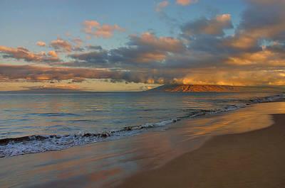 Maui Dawn Poster by Stephen  Vecchiotti