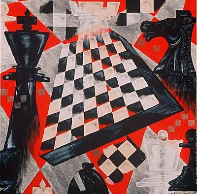 A Chess Piece Poster by Shellton Tremble
