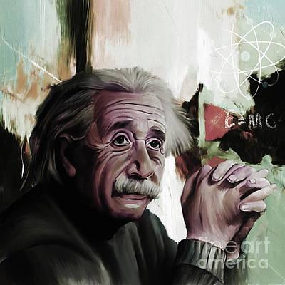 Albert Einstein  Poster by Gull G