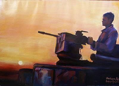 American Solder In Iraq Poster