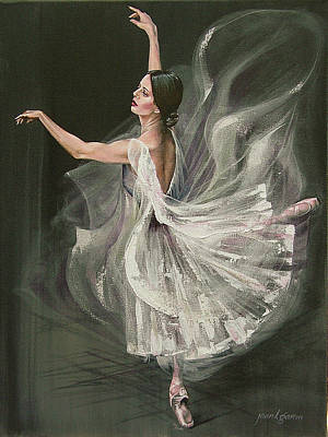 Baile Blanca Poster by Joan Garcia