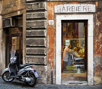 Barbiere Poster by Stefan Nielsen