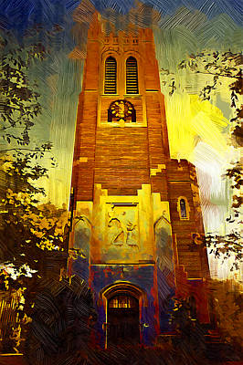 Beaumont Tower  Poster by Paul Bartoszek