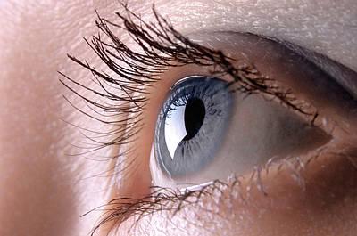 Blue Eye Poster by Oleksiy Maksymenko