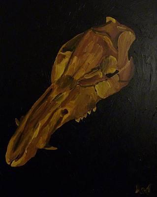 Boar's Skull No. 3 Poster by Joshua Redman