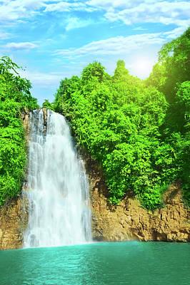 Bobla Waterfall Poster by MotHaiBaPhoto Prints