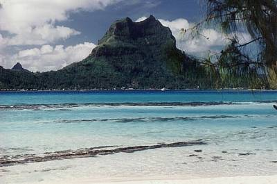 Poster featuring the photograph Bora Bora by Mary-Lee Sanders