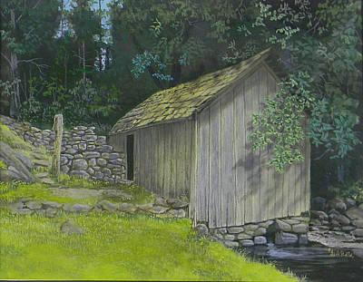 Brinegar Cabin Springhouse Poster