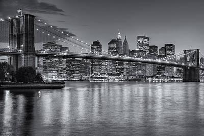 Brooklyn Bridge Twilight II Poster