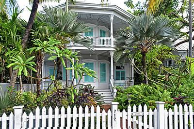 Calvin Klein House Key West Poster by Maria Keady