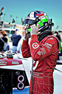 Dario Franchitti  Poster by Bill Linhares