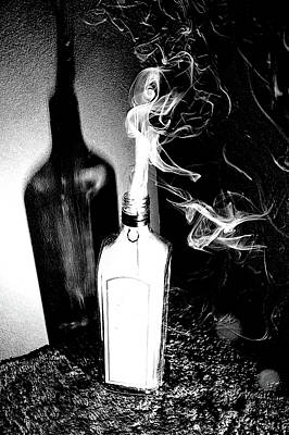 Djinn In A Bottle Poster by Derico Cooper
