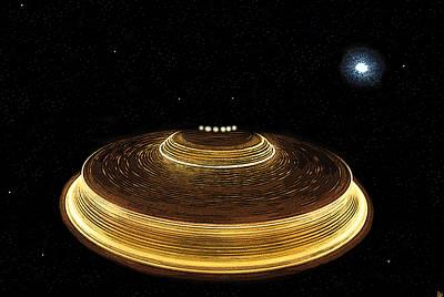 Galaxy Bound Poster