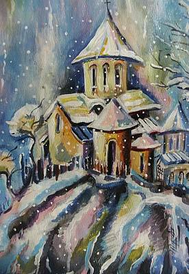 Georgian Church Poster