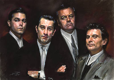 Goodfellas Poster by Ylli Haruni