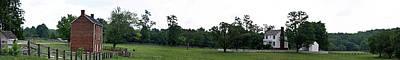Historic Appomattox Panorama  Poster by Teresa Mucha