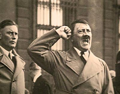 Hitler The Orator Poster by Al Bourassa