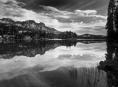 Imogene Lake Poster by Leland D Howard