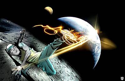 Intergalactic Bboy Poster