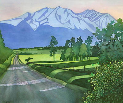 Into The Valley Poster by Anne Havard