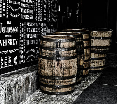 Jack Daniel's Tennessee Whiskey Barrels Poster