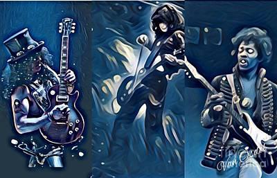 Legendary Shredders - Masters Of Soul Poster