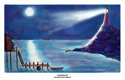 Lighthouse Poster by Kevin Nodland