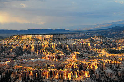 Magical Light At Bryce Canyon  Poster