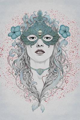 Masked Poster by Diego Fernandez