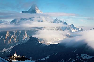 Matterhorn Poster by Konstantin Dikovsky