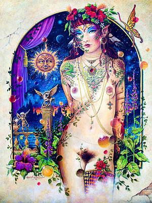 Pixie Queen Poster by Keith Stillwagon