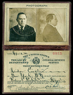 Prohibition Agent Id Poster