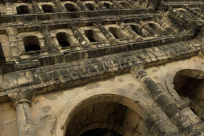 Poster featuring the photograph Roman City Gate - Porta Nigra by Urft Valley Art