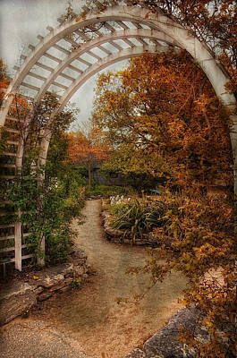 Rusting Garden Poster by Robin-Lee Vieira